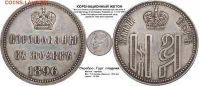 О фотографировании монет - коронационный жетон