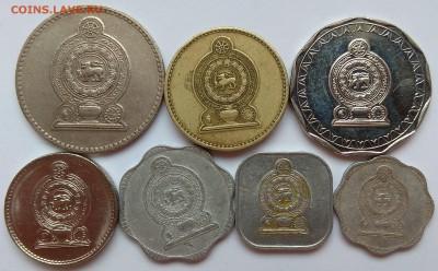 Набор монет о.Шри-Ланка 7 шт - 26.07 22:00:00 мск - IMG_20180331_150145
