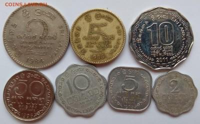 Набор монет о.Шри-Ланка 7 шт - 26.07 22:00:00 мск - IMG_20180331_150109