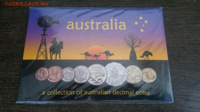Набор разменных монет Австралии в буклете до 31.07 22-00 - Австралия 1