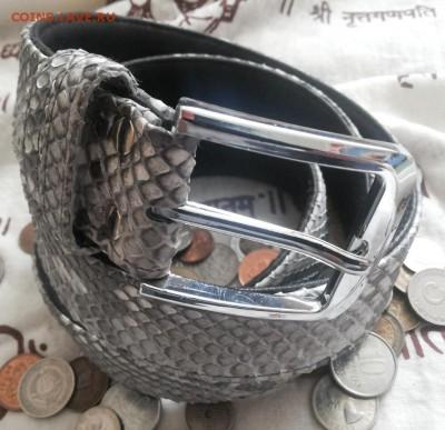 Изделия из кожи крокодила и питона. - 20120103_143439