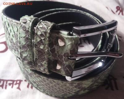 Изделия из кожи крокодила и питона. - 20141204_221755