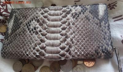 Изделия из кожи крокодила и питона. - 20150322_233916