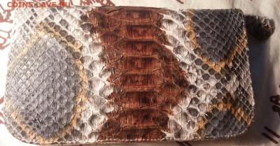 Изделия из кожи крокодила и питона. - 20141209_135436