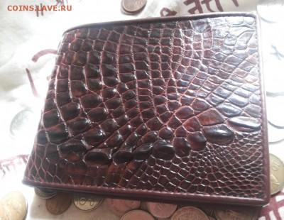 Изделия из кожи крокодила и питона. - 20120106_130241