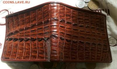 Изделия из кожи крокодила и питона. - 20120102_123852