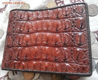 Изделия из кожи крокодила и питона. - 20120103_144524