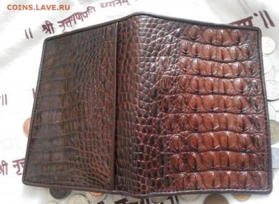 Изделия из кожи крокодила и питона. - 20120103_151744