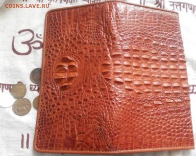 Изделия из кожи крокодила и питона. - 20120101_104723
