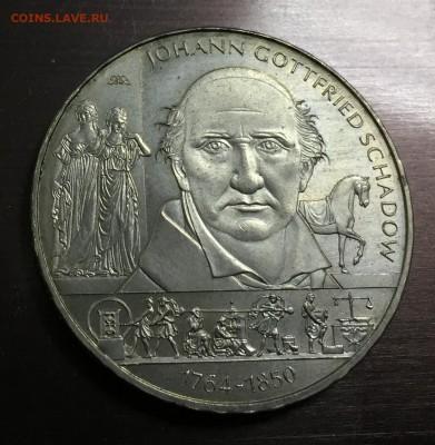 10 Евро Германия Шадов Иоганн Готфрид с 200 руб до 17.08 - IMG_1139-11-08-18-01-11.JPG