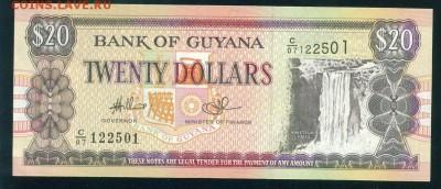 ГАЙАНА 20 долларов 1996г ПРЕСС до 17.08.18г 22.30 МСК - Image17