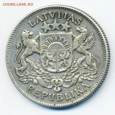 Латвия 2 лата 1925 - Латвия_2лата-1925_А