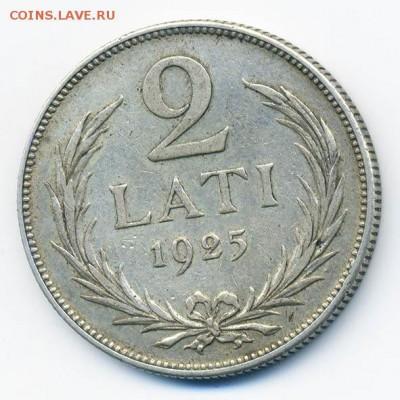 Латвия 2 лата 1925 - Латвия_2лата-1925_Р
