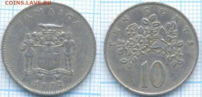 Ямайка 10 центов 1972 г. , до 29.08.2018 г. 22.00 по Москве - Ямайка 10 центов 1972  3356
