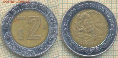Мексика 2 песо 2007 г., до 29.08.2018 г. 22.00 по Москве - Мексика 2 песо 2007  997