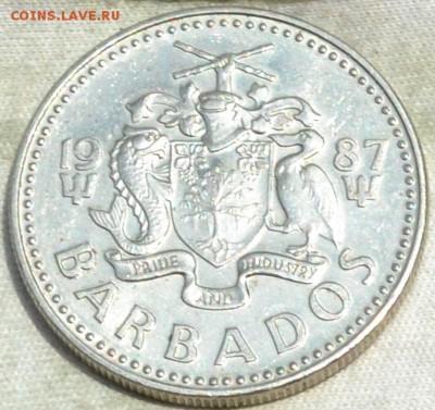 Барбадос 25 центов 1987. 27. 08. 2018. в 22 - 00. - DSC_0877