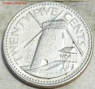 Барбадос 25 центов 1987. 27. 08. 2018. в 22 - 00. - DSC_0878