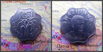 Свазиленд 10 центов, 2005 - 15
