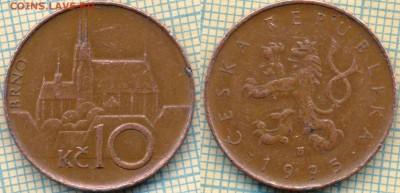 Чехия 10 крон 1995  г.  LK справа, до 06.09.2018 г. 22.00 по - Чехия 10 крон 1995  3488