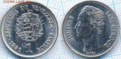 Венесуэла 1 боливар 1990 г., до 11.09.2018 г. 22.00 по Москв - Венесуэла 1 боливар 1990  2261