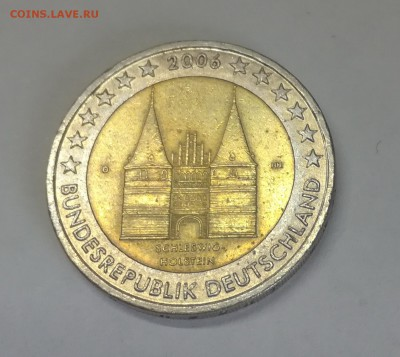 Германия 2 евро 2006 Шлезвинг-Гольштейн до 12.09.18 - IMG_20180908_113054