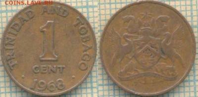 Тринидад и Тобаго 1 цент 1968 г. , до 19.09.2018 г. 22.00 по - Тринидад 1 цент 1968  3750