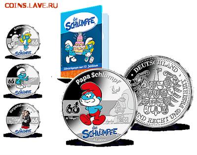 Кошки на монетах - tpl_mf_sammlung_folderabo_rund_1zubehoer