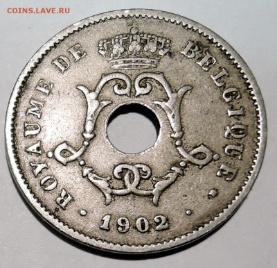 БЕЛЬГИЯ - 10 сантимов 1902 до 15.10  в 22.00 - DSCN2599.JPG
