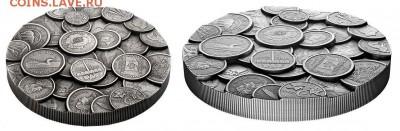 Монеты на монетах - 10
