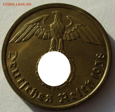 Германия, иностранщина (наборы, на вес, евро), царизм, СССР. - 10 пфеннигов 1938 A - 2-1