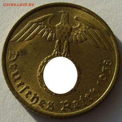 Германия, иностранщина (наборы, на вес, евро), царизм, СССР. - 5 пфеннигов 1938 A - 2-1