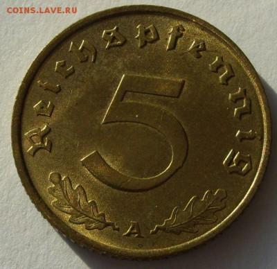 Германия, иностранщина (наборы, на вес, евро), царизм, СССР. - 5 пфеннигов 1938 A - 1