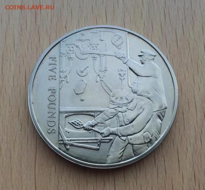 Джерси 5 фунтов 2004 поезд паровоз кочегары тепловоз транспо - dzhersi_5_funtov_2004_poezd_parovoz_kochegary_teplovoz_transport_zheleznaja_doroga_krona_shajba (2)