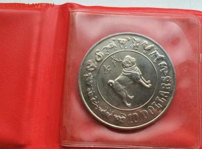 Крона Шайба Сингапур 10$ долларов 1982 год собаки фауна - krona_shajba_singapur_10_dollarov_1982_god_sobaki_fauna2