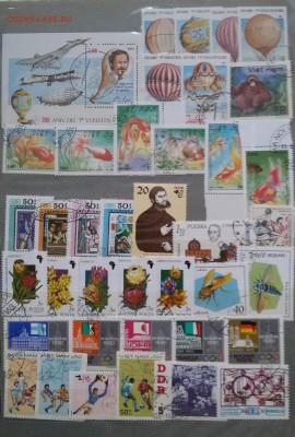 Солянка СССР, России, Иностранные - разных годов гашеные - 20180430_122353