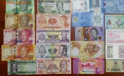 Иностранные банкноты по ФИКСу . 52 вида ПРЕСС UNC до 08.11 - 5
