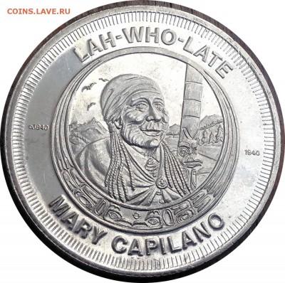 A81 Канада торговый доллар Capilano, BC 1979 13.11 в 22°° - A81 Token Capilano BC 1979_2