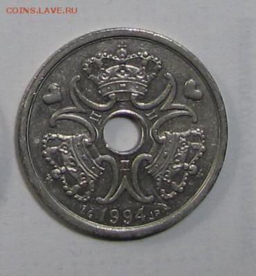 2 кроны Дания 1994г. до 16-11-18 - 94