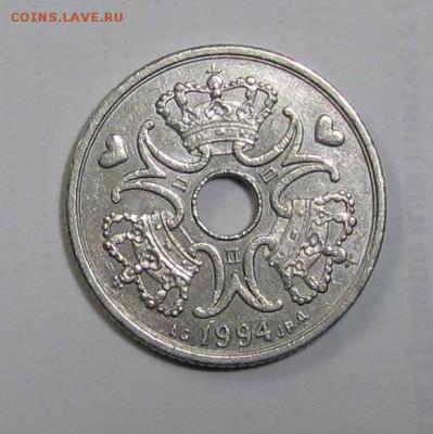 5 крон Дания 1994 г. до 16-11-18 - 5-94