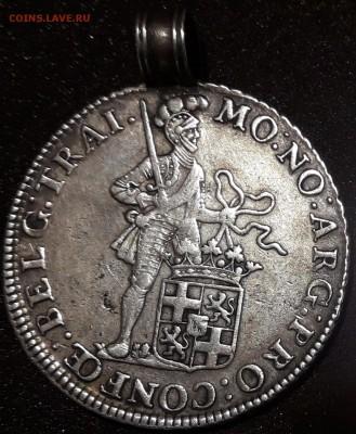 Монетка с рыцарем 1763 год (Бельгия?) - тпв 018