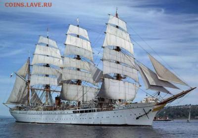 Монеты с Корабликами - барк «Nippon Maru»