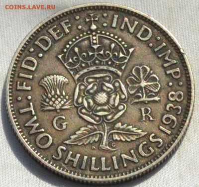 Британия флорин 1938. 08.12. 2018. в 22 - 00. - DSC_0013