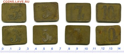 Анонимные трактирные марки - оценка - 201