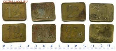 Анонимные трактирные марки - оценка - 202
