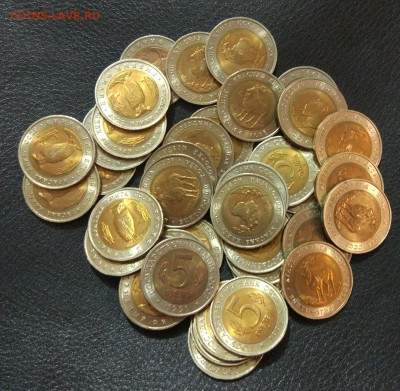 5 рублей 1991 красная книга фикс до 13.12. - 2pqs6R-X_W0
