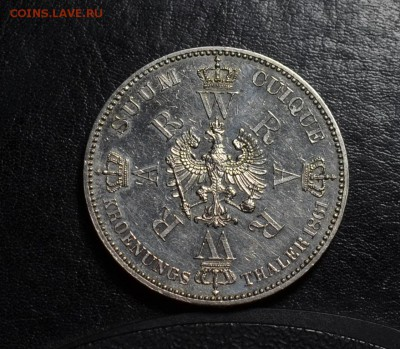 1 талер Пруссия 1861 коронация - DSC_7650.JPG