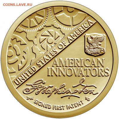 Монеты США. Вопросы и ответы - 2018-american-innovation-one-dollar-uncirculated-coin-reverse-768x768