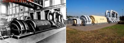 Частные выпуски нотгельдов Германии. Обзорная тема. - Турбина-генератор на 60 МВт фирмы Siemens-Schuckertwerke GmbH, Бельгия, г. Шель