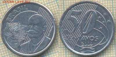 Бразилия 50 сентаво 2009 г., до 23.12.2018 г. 22.00 по Москв - Бразилия 50 сентаво 2009  1352