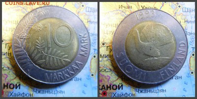 Финляндия 10 марок, 1993 - 12